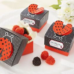 Personalized 3D Wing Ladybug Favor Boxes