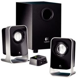 2.1 Stereo Multimedia Speaker System with Subwoofer