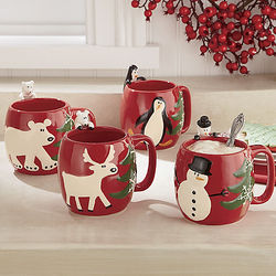 Holiday Season Ceramic Mugs