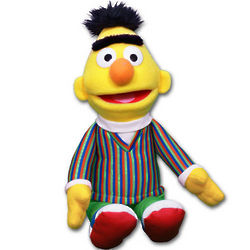Sesame Street Bert Stuffed Toy