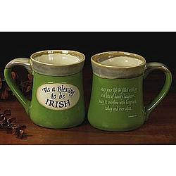 Tis a Blessing Pottery Mug