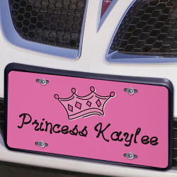 I'm Just a Princess License Plate