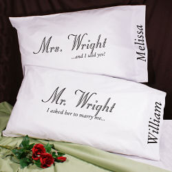 I Asked Pillowcase Set