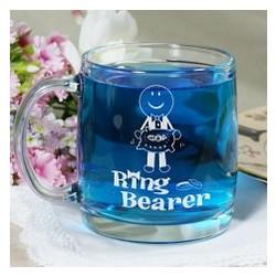 Ring Bearer or Flower Girl Glass Mug