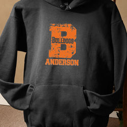 Personalized Athletic Go Team Sweatshirt