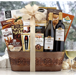 Crossridge Peak Wine Connoisseur Gift Basket