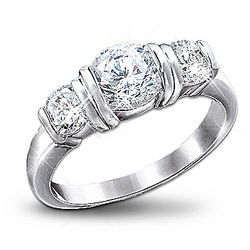 Majestic Radiance Diamonesk Women's Ring