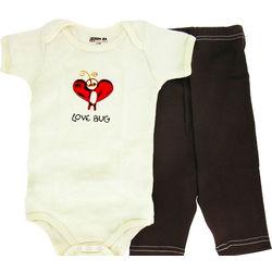 Love Bug Short Sleeve Bodysuit Baby Gift Set