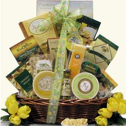 Tempting Easter Cheese Delights Gift Basket