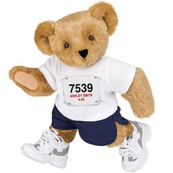 Runner Teddy Bear