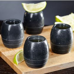 Deep Freeze Soapstone Shot Glass Set
