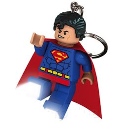 Lego Superman LED Key Chain