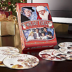 TV & Cartoons Holiday Family Collection of Movie DVDs