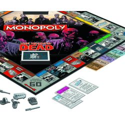Walking Dead Survival Edition Monopoly Game