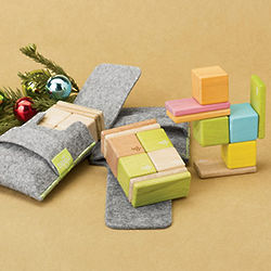 Tegu Pocket Pouch Wooden Blocks