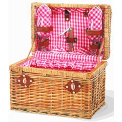Chardonnay Picnic Basket for 2