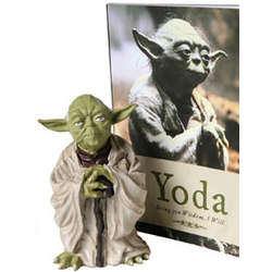 Yoda Wisdom Figurine and Book Set
