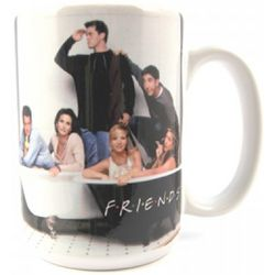 Friends Cast in Bath Tub Coffee Mug