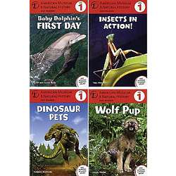 Natural History Early Readers Book Set
