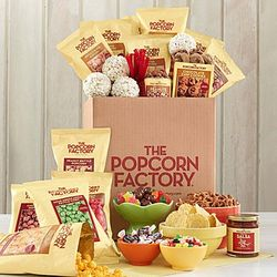 Jumbo Popcorn and Snack Box
