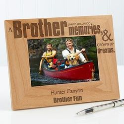 Special Brother Personalized Photo Frame