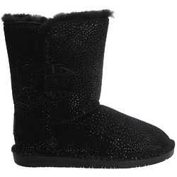 Black and Silver Diva Boots