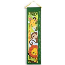 Safari Personalized Growth Chart
