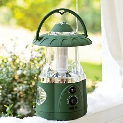 Multi-Function Radio, LED Lantern, and Flashlight