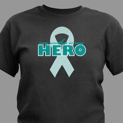 My Hero Personalized Awareness T-Shirt