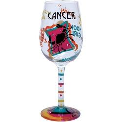 Cancer Wine Glass