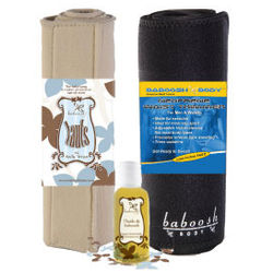 Tauts Belly Wrap , Baboosh Body, and Stretch Mark Oil Gift Set
