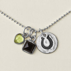Luck is Believing You're Lucky Necklace