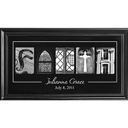 """Personalized """"Faith"""" Framed Print"""