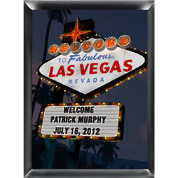 Vegas Traditional Nighttime Personalized Print