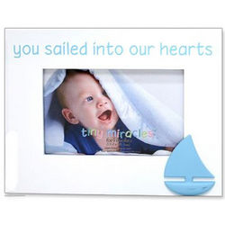 You Sailed Into Our Hearts Picture Frame