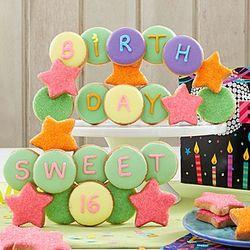 Sweet Sixteen Cookie Gift Box