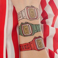Watch Temporary Tattoos