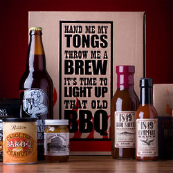 Beer and Barbecue Gift Box