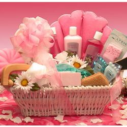 Ultimate Relaxation Bath & Body Basket