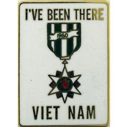 "Vietnam ""I've Been There"" Pin"