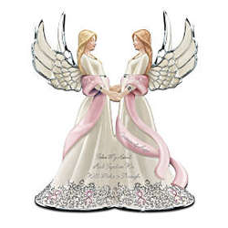 "Breast Cancer ""Sisters Of Hope"" Musical Figurine"