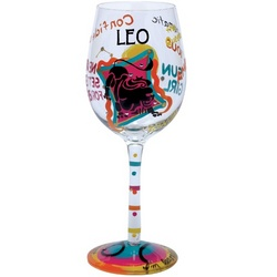 Leo Wine Glass
