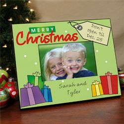 Merry Christmas Personalized Printed Frame