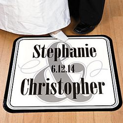 Personalized Wedding Floor Cling