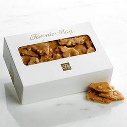 Fannie May Peanut Brittle in 1 Pound Box