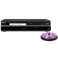 VHS and DVD Player and Recorder