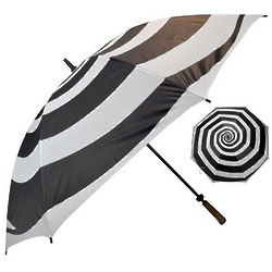 Mod Hypnotic Swirl Umbrella