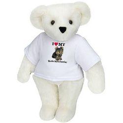 I Heart My Yorkshire Terrier Teddy Bear T-Shirt