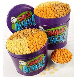 Snack Attack Popcorn Gift Tin