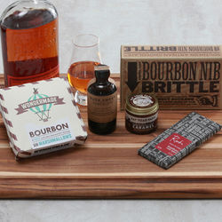 Bourbon Flavored Candy and Chocolate Gift Box